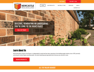 newcastlebricks.com.au screenshot