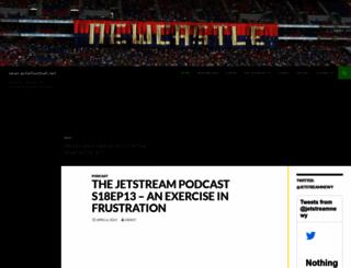 newcastlefootball.net screenshot