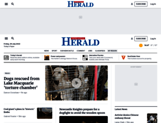 newcastleherald.com.au screenshot
