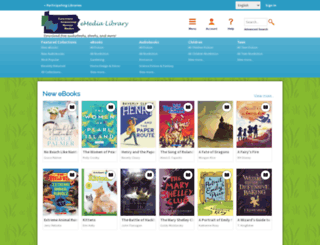 newcastlepa.libraryreserve.com screenshot