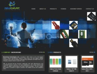 newchamp.com.hk screenshot