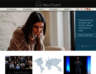 newchurch.org screenshot