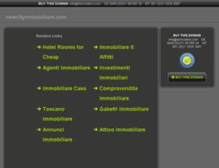 newcityimmobiliare.com screenshot