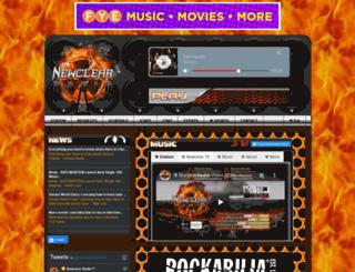 newclearradio.com screenshot