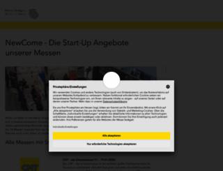 newcome.de screenshot