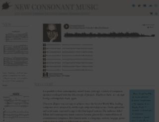 newconsonantmusic.com screenshot