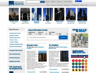 newconstructionmanhattan.com screenshot