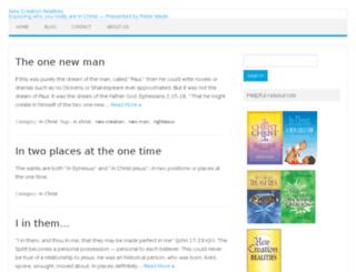 newcreationrealities.com screenshot