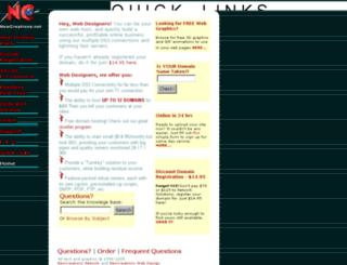 newcreations.net screenshot