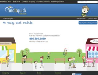 newdeals.finditquick.com screenshot