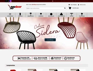 newdecor.com.br screenshot