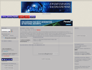 newdiversion.foroactivo.net screenshot