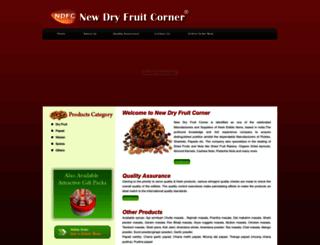 newdryfruitcorner.com screenshot