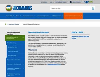 neweducators.dpsk12.org screenshot