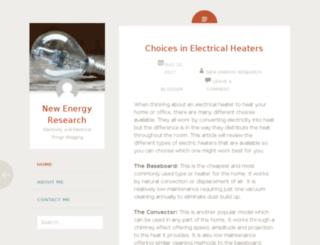 newenergyresearch.net screenshot