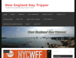 newenglanddaytripper.com screenshot