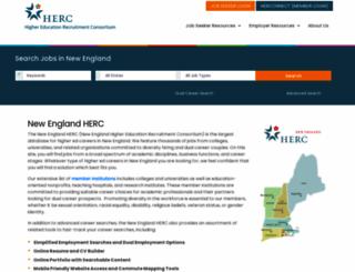 newenglandherc.org screenshot