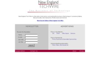 newenglandtechwire.com screenshot