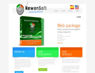 newensoft.com.ar screenshot