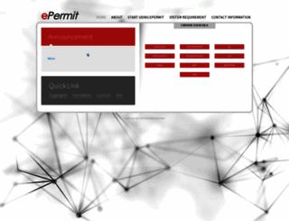 newepermit.dagangnet.com.my screenshot