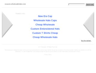 newera-wholesalehats.com screenshot