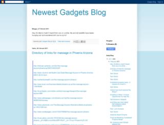 newestgadgetsblog.blogspot.com screenshot