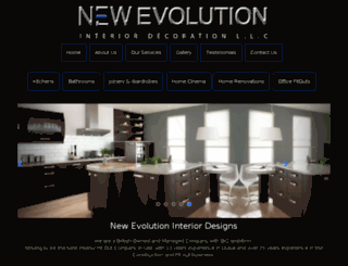 newevodesigns.com screenshot