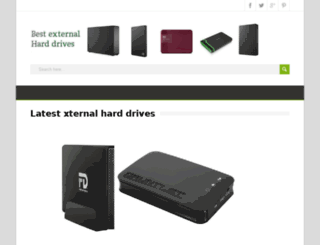 newexternalharddrives.com screenshot