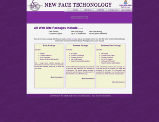 newfacetechnology.com screenshot