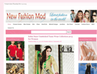 newfashionsmod.com screenshot