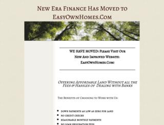 newfinanceland.yolasite.com screenshot