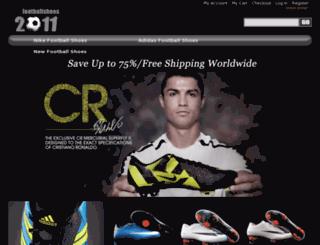 newfootballshoes.co.uk screenshot