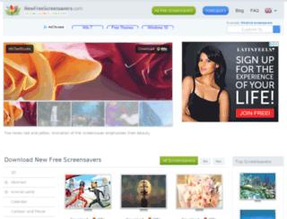 newfreescreensavers.com screenshot