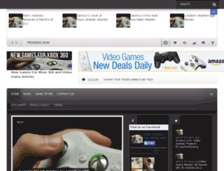 newgamesforxbox360.com screenshot