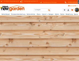 newgarden-shop.de screenshot