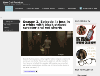newgirlfashion.net screenshot