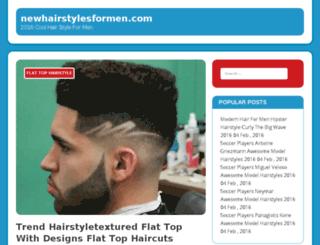 newhairstylesformen.com screenshot