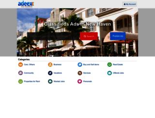 newhaven.adeex.us screenshot