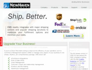 newhaven.commercev3.com screenshot