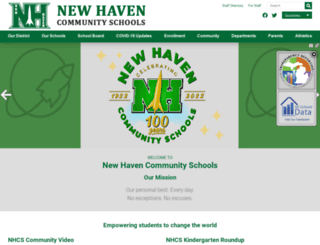 newhaven.misd.net screenshot