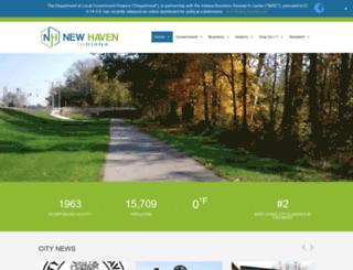 newhavenin.org screenshot