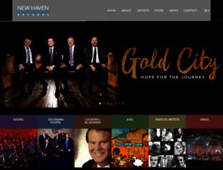 newhavenrecords.com screenshot