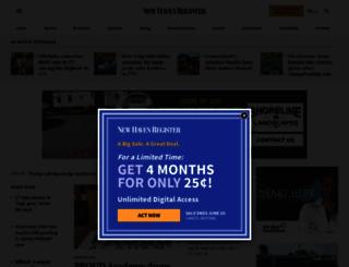newhavenregister.com screenshot