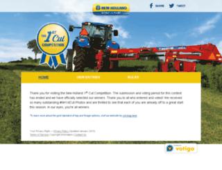 newholland.votigo.com screenshot