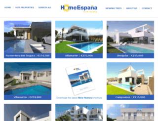 newhomeespana.com screenshot