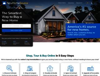 newhomesource.com screenshot