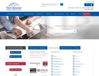 newhorizons-no.com screenshot