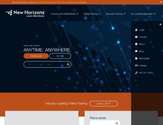 newhorizons.com.kw screenshot