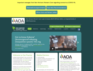 newhorizonswomenscare.com screenshot