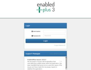 newi.enabledplus.com screenshot